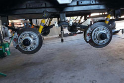 Trailer Suspension Repair Mesa, AZ