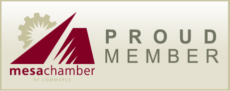 Proud Member Mesa Chamber of Commerce