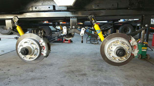 Trailer Suspension Repair Mesa AZ