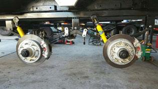 Trailer Suspension Repair Mesa AZ