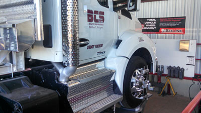 Truck alignment Mesa AZ